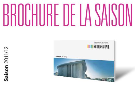 Saison 2011-2012 - Philharmonie de Luxembourg