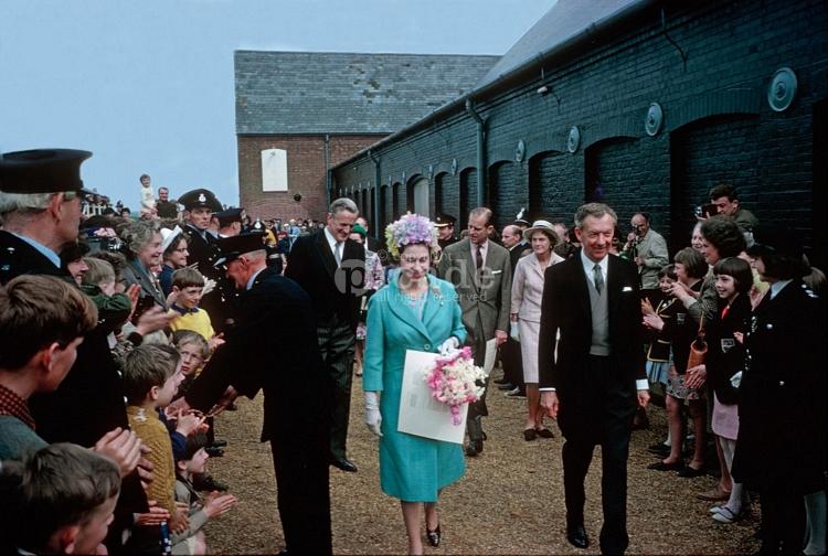 Benjamin Britten et Elizabeth Alexandra Mary Windsor