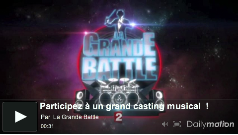 La Grande Battle - Teasing France 2 (Dailymotion)