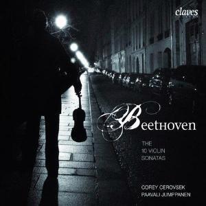 Intégrale des sonates pour violon et piano de Beethoven, par Corey Cerovsek et Paavi Jumppanen (écoute spotify)