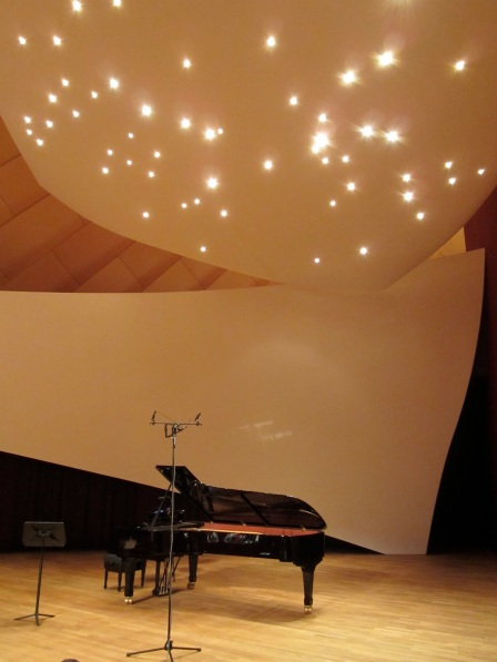 Salle de musique de chambre de la Philharmonie Luxembourg