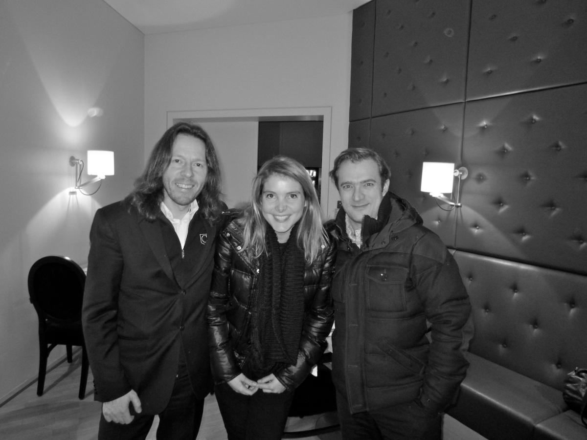Frank Braley (à g.) et Renaud Capuçon (à d.) - Philharmonie Luxembourg