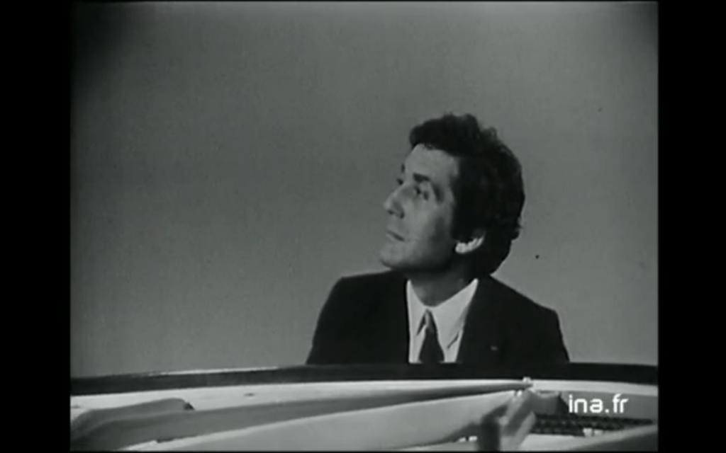 Aldo Ciccolini - Discorama - 05/07/1969 - INA