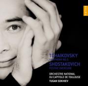Tchaïkovsky : Symphony n°5, Shostakovitch : Festive Overture, Orchestre National du Capitol de Toulouse, Tugan Sokhiev (direction), Naïve