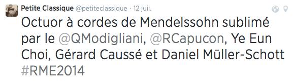 Petite Classique - Twit RME 2014